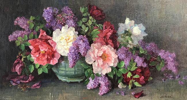 Alice Chittenden - Still Life of Flowers